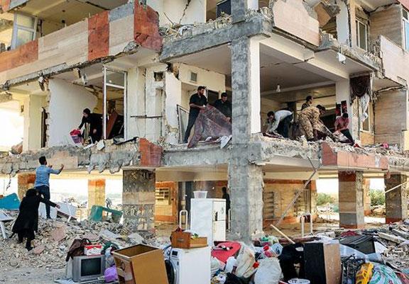 سرپل+ذهاب،+دو+روز+پس+از+زلزله